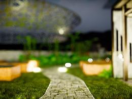 小清新楼顶小花园