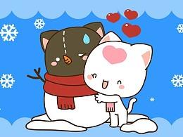 洛猫冬季表情包