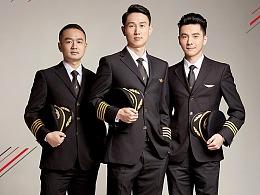 商业_深圳航空2018台历人物拍摄