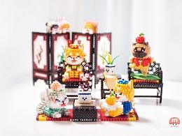 MARD拼豆原创-中式家具
