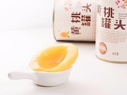 零食 黄桃罐头 淘宝