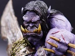 魔兽世界胸像 卡加斯 刃拳 LEE原型 Timo工作室涂装