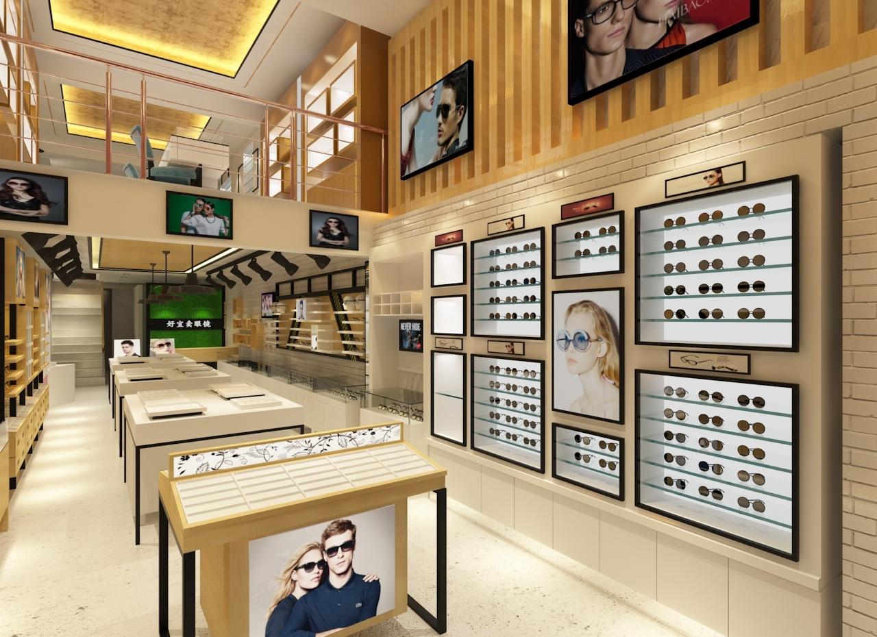 眼镜店装修效果图
