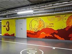 现代优雅的Proximo办公大楼导视系统设计
