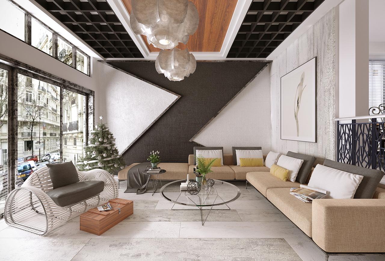 北欧风格|空间|室内设计|懒人创作 - 原创作品 - 站酷