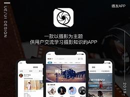 【南都艺设】摄友app界面设计/GUI展现