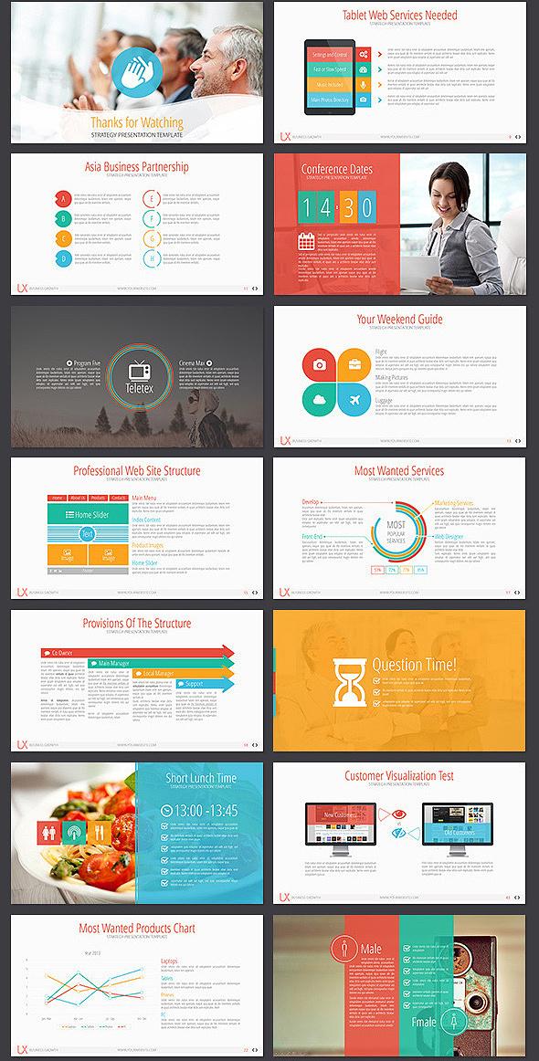 50页商务团队简介业务洽谈总结计划PPT模板