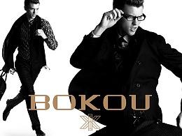 0708时尚品牌设计作品:BOKOU高端男装品牌形象设计