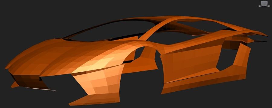 查看《3DMAX建模Lamborghini Aventador LP700-4》原图,原图尺寸:1619x642