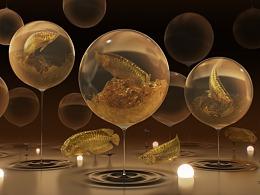 金龙鱼概念创作