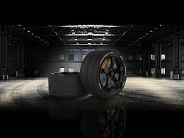 轮胎建模渲染