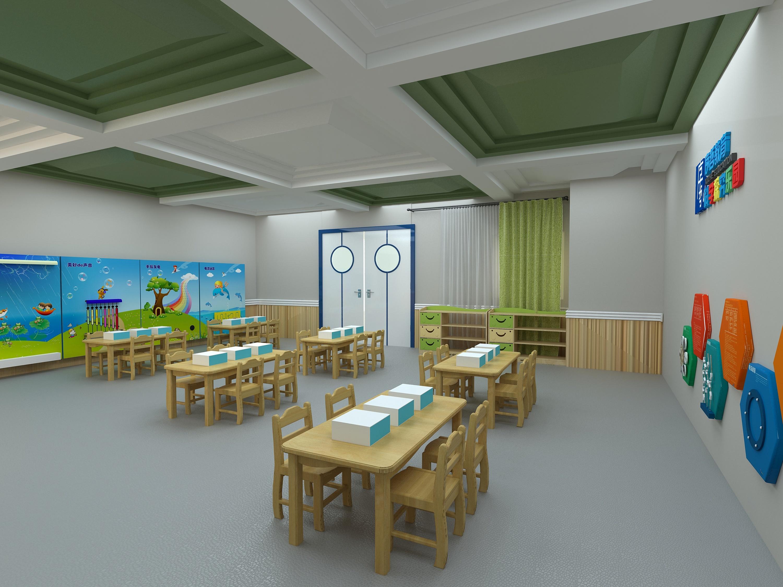 幼儿园专业教室|空间|室内设计|zmb12 - 原创作品