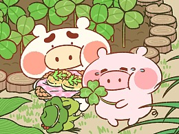 猪仔猪兜养蛙日常
