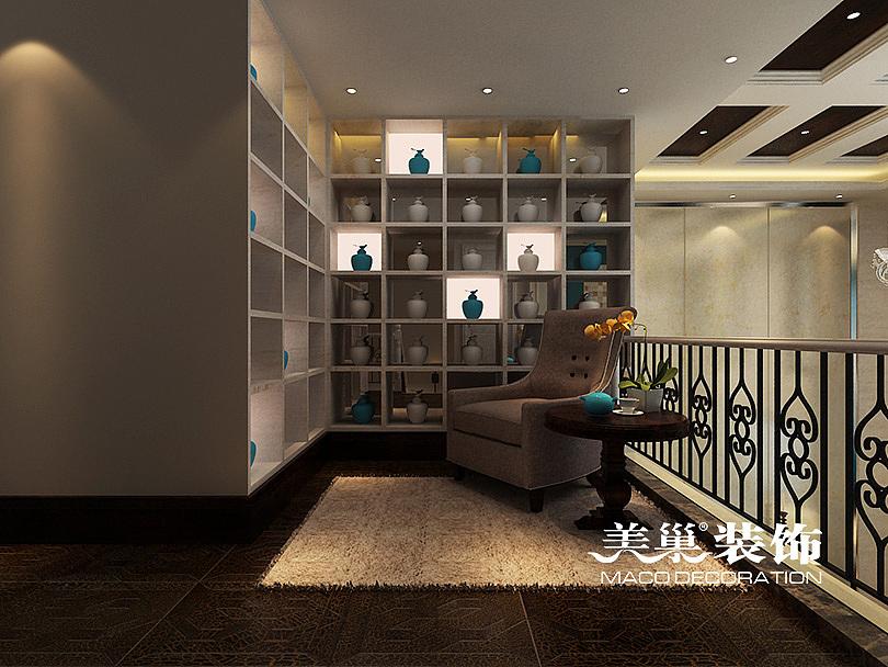 美巢喜欢:新城楼梯装修462平-装饰联盟设计区机械和会计展览哪个有前景图片