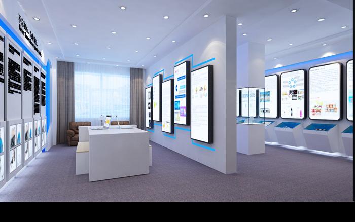 漯河企业展厅装修公司 漯河展厅设计案例效果图赏析
