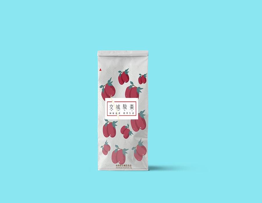 红枣手绘包装