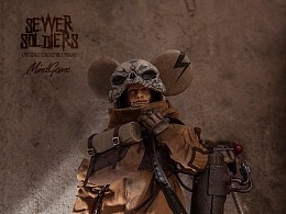 DAMTOYS 1/6 MindGame – Sewer Soldiers - Sacker