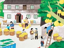 美亨公社形象宣传海报