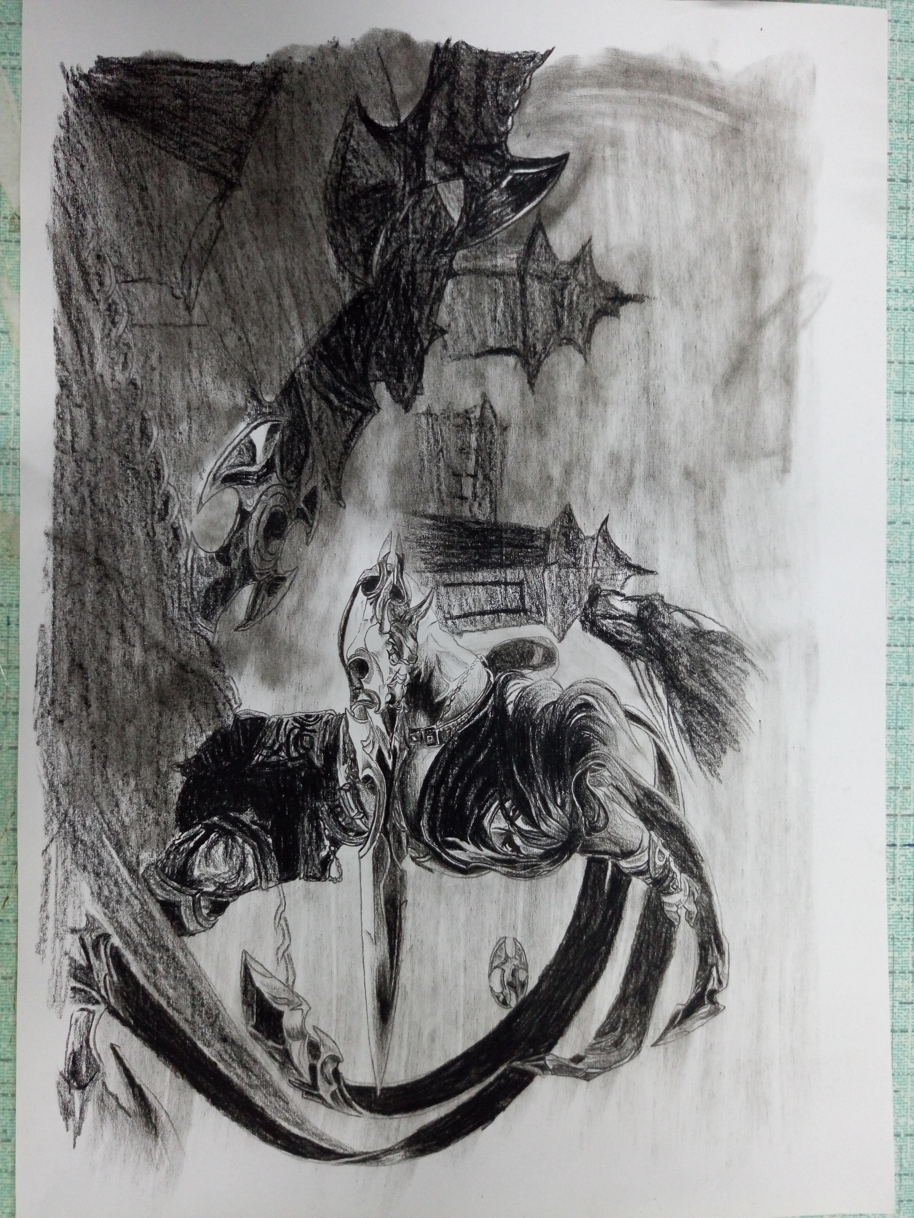 英雄联盟手绘|插画|游戏原画|listen_0 - 临摹作品
