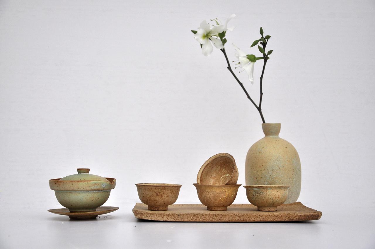 纯手工陶艺生活器皿,一壶一世界图片