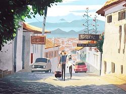 两个人的旅行画记-秘鲁&玻利维亚