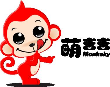 萌猴吉祥物设计稿|标志|平面|天下溪图片