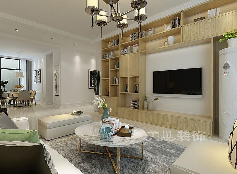 郑州安和小区141平方装修效果图三室两厅简约设计环说明手图片