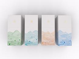 四季茶包装设计