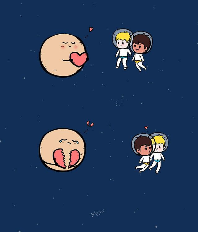 冥王星的爱|动漫|其他动漫|有生有色 - 原创作品图片