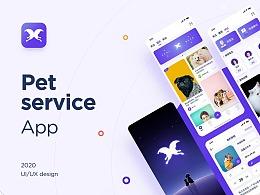 眷故宠物app设计及品牌设计
