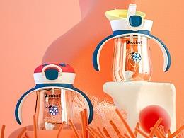 Dicobell瓢虫吸管杯品牌详情页设计