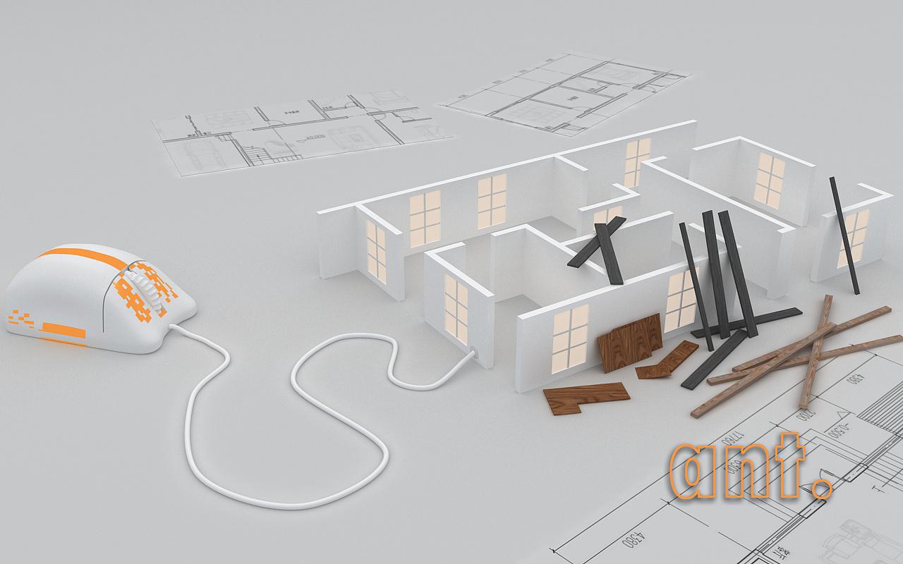 结构|三维|建筑/空间|ant0119 - 原创作品 - 站酷