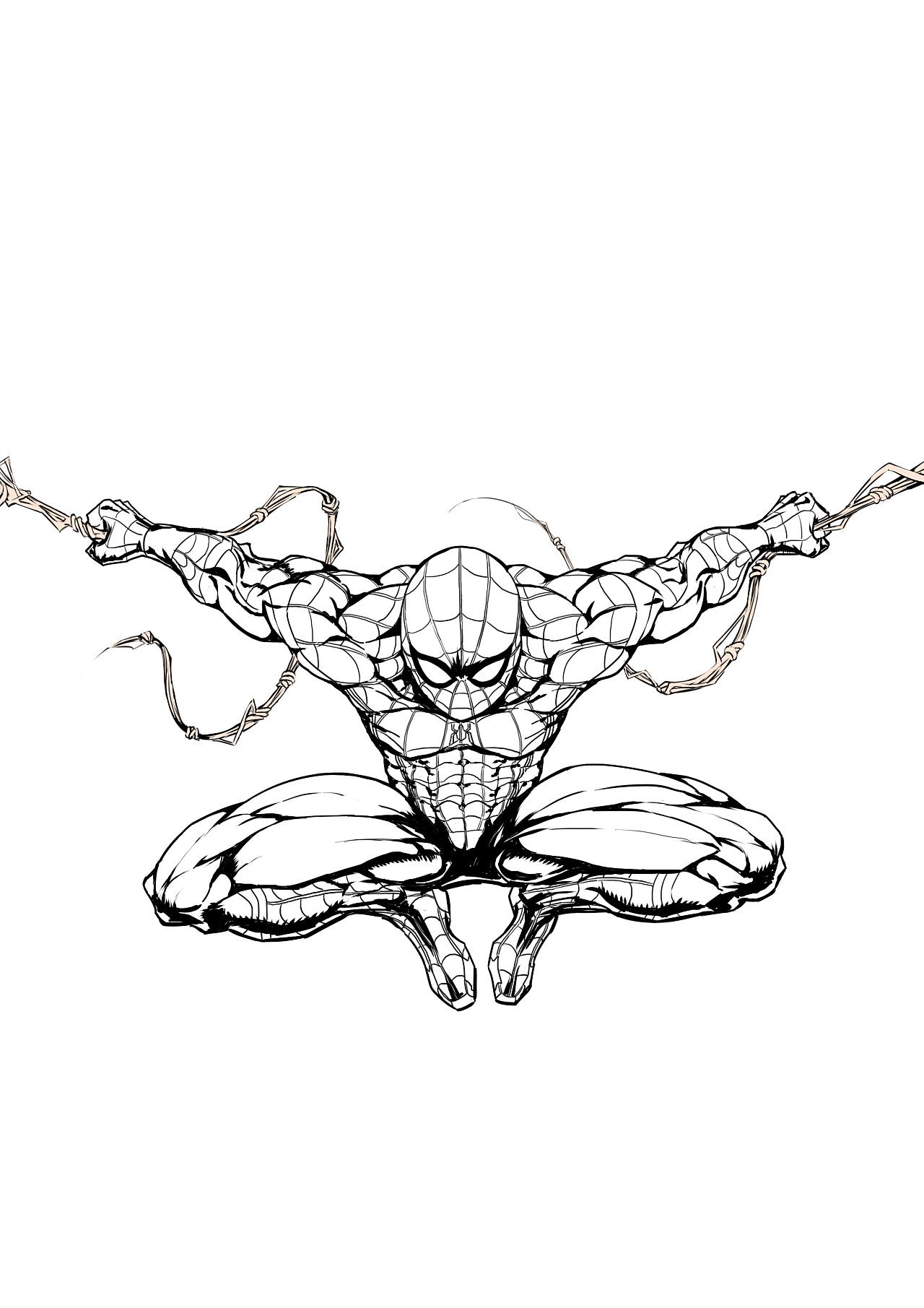 蜘蛛侠-英雄归来 小蜘蛛×钢铁侠×秃鹰图片