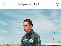 A21秋季工装裤男潮牌束脚裤