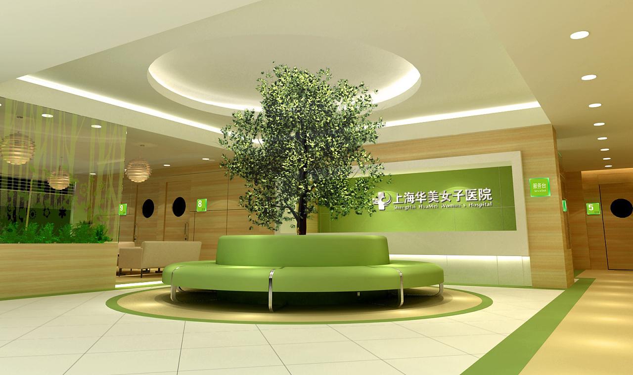 医院展厅空间装修设计 广州设计公司