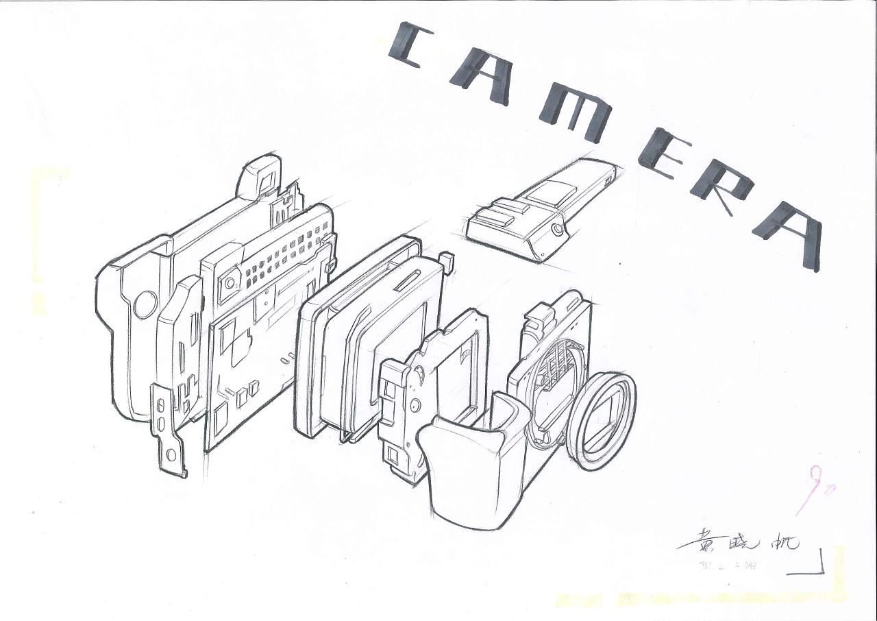 工业设计产品手绘