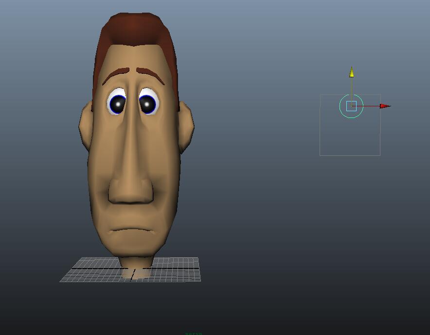 绑定maya表情利用v表情动画面部表情|人物/影视bye的骨骼包图片