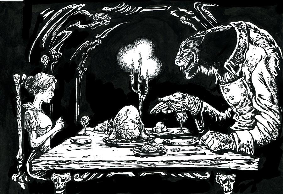 格林童话插图|商业插画|插画|赵画画 - 原创设计作品