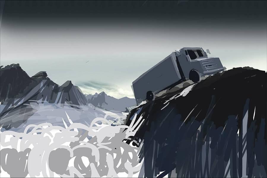 道達爾 海報 潤滑油 創意 海報 平面 曰安