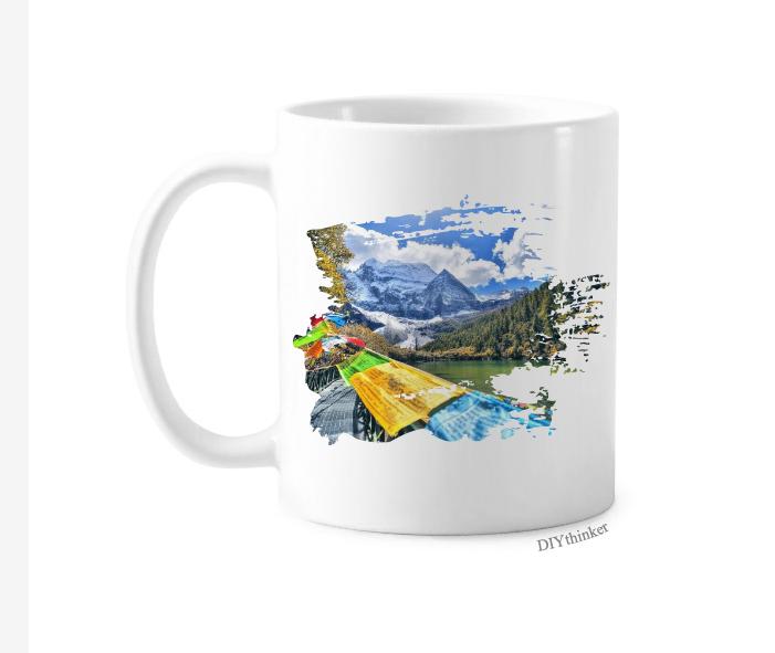 藏族 稻城亚丁 旅游产品效果图