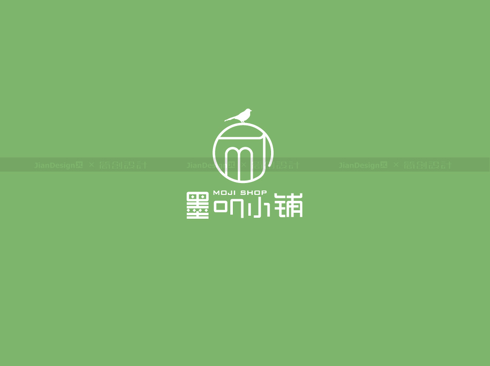 新浪logo_服装店logo设计—墨叽小铺|平面|标志|简创品牌设计 - 原创作品 ...