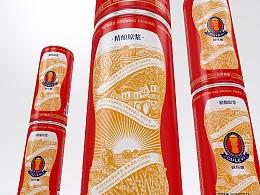 欧乐唯啤酒logo&包装设计