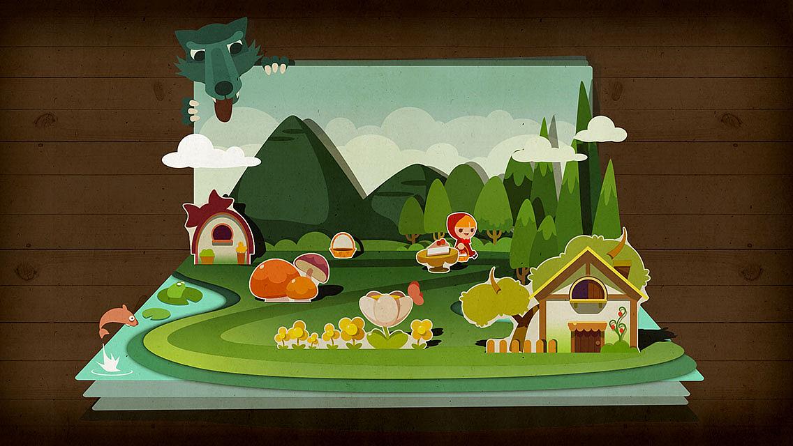 《折纸剧场》一个休闲游戏的全部美术资源