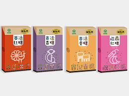 军粮监制—福乐丹古法云南特色红糖系列包装创意设计