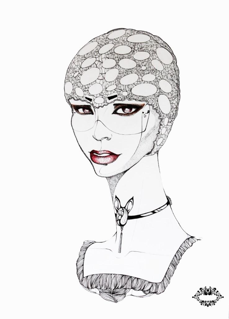 查看《JAMU時尚插畫之十二生肖合集》原图,原图尺寸:738x1025