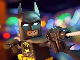 C4D-乐高蝙蝠侠