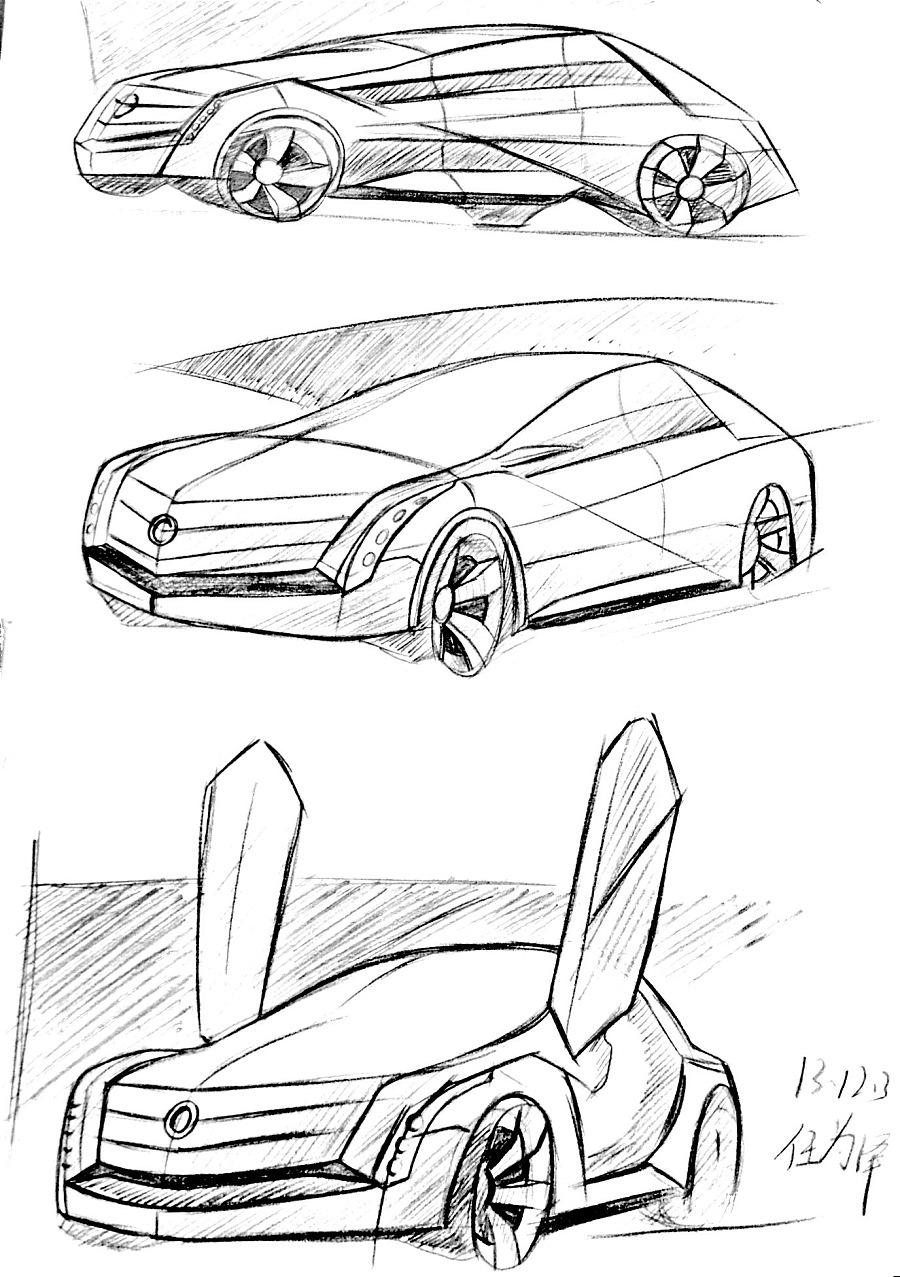 工业设计手绘-草图