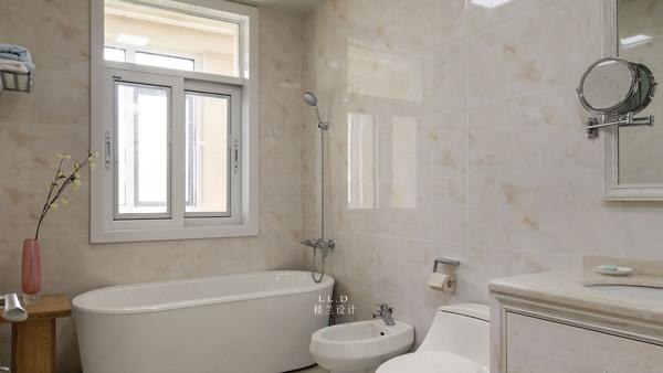 别墅装修设计,美观舒适的浴室装修参考效果图