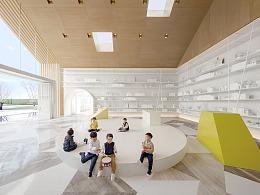 最童梦的主题地产销售中心,美好生活场景的设计实践