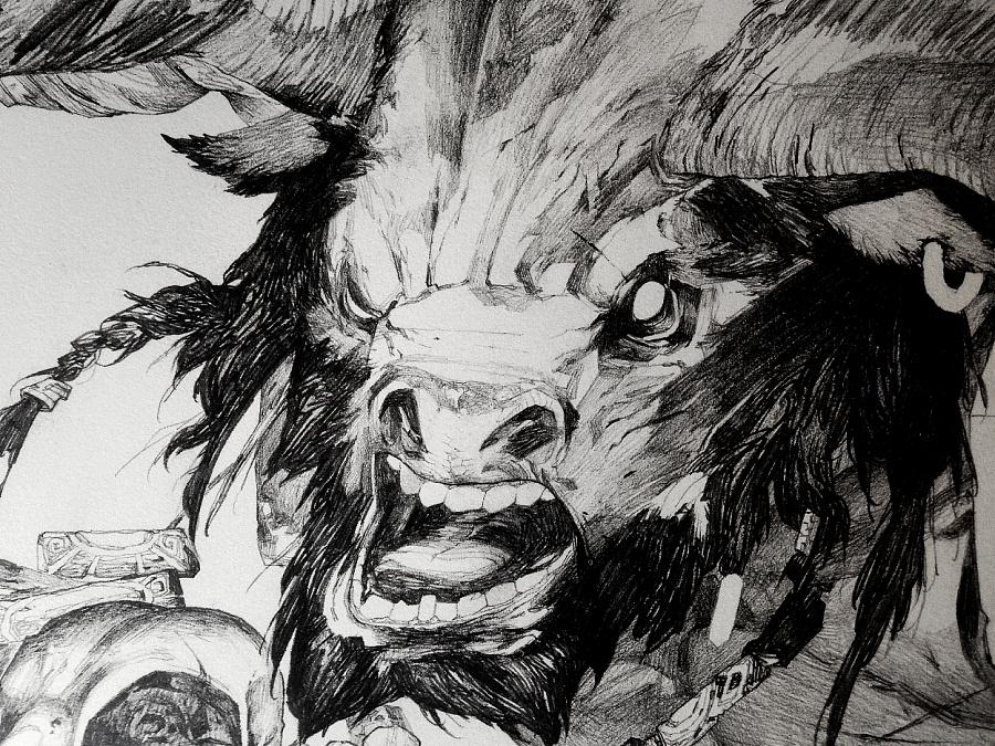 查看《牛头人》原图,原图尺寸:1248x936